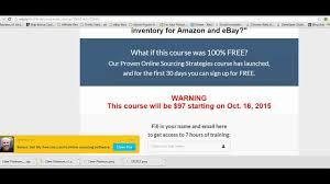 Free Online Arbitrage Sourcing Discounts (