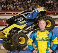 Conlan Wants To Be Driver Of Wolverine For Halloween Alex Blackwell Monster JamMonster TrucksWolverines