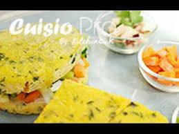 cuisine du monde thermomix recettes omelette aux légumes à la vapeur cuisio pro la
