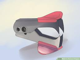 Long Floor Staple Remover by How To Remove Staples 9 Steps With Pictures Wikihow