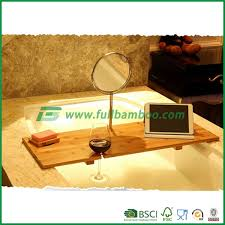 Bamboo Bathtub Caddy With Wine Glass Holder by 100 Bamboo Bathtub Caddy With Extendable Sides Book Stand