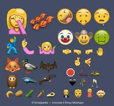 Emoji Unicode Announces 79 New Potential