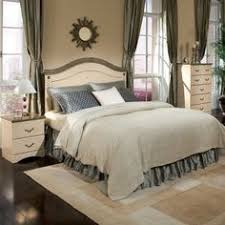 Queen headboard dresser mirror and chest from Standard