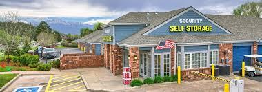 100 Storage Unit Houses Self S Near UCCS Colorado Springs CO Security Self