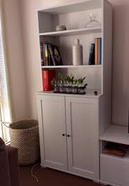 Borgsj Corner Desk Hack by Borgsjo Bookcases From Ikea Bookcases Shelves Pinterest