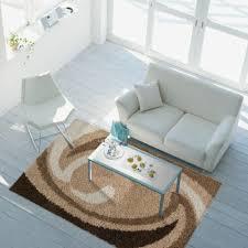 sale teppich modern hochflor shaggy wohnzimmer wellen muster