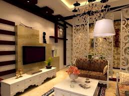 Attractive Partition Ideas Between Living Room And Dining Interior