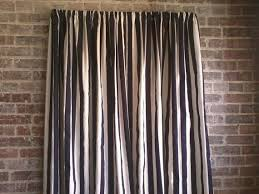 Black And White Striped Curtains by Signature Black And White Designer Velvet Curtain Panel Pics