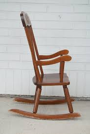 Child's Wooden Rocking Chair W/ Wood Carved Detail Sold Antique Mission Style Rocking Chair Refinished Maple And Leather Adams Northwest Estate Sales Auctions Lot 12 Vintage Wood Mini Rocker 3 Vintage Wood Carved Rocking Chairs Incl 1 Duck Design Seat Tell City Company Love Seat Projects In Childs Wooden Refurbished Autentico Bright White Victorian W Upholstered Back Wooden Chair Ldon For 4000 Sale Shpock With Patchwork Design On Backrest Batley West Yorkshire Gumtree Child Doll Red Checked Fabric