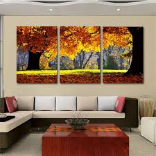 2018 Nature Canvas Art Painting Scenery Pattern For Living Room Wall Cheap Chinese New Arrival From Guocunhan2015