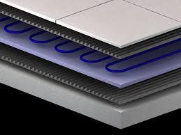 the heated tile floor project preparation tile floor