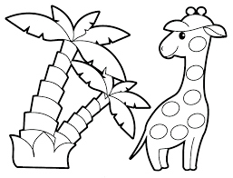 Coloring Pages Animals Animal Color Page Kids