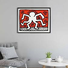berühmte pop keith haring abstrakte graffiti poster und drucke für wohnzimmer decor leinwand wand kunst bild malerei