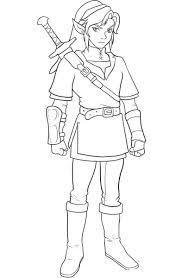 Zelda Coloring Pages Trend Link