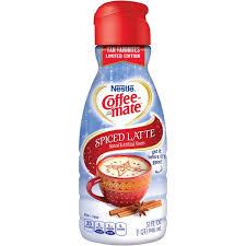 Nestle Coffee Mate Spiced Latte Liquid Creamer