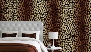 Leopard Print Bedroom Decor by Leopard Print Wallpaper In Bedroom Http Www Wowwallpaperhanging