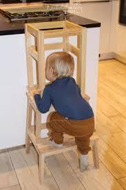 ikea learning tower günstig schnell gemacht