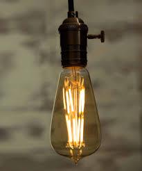 vintage light bulb led large globe led 8 filaments
