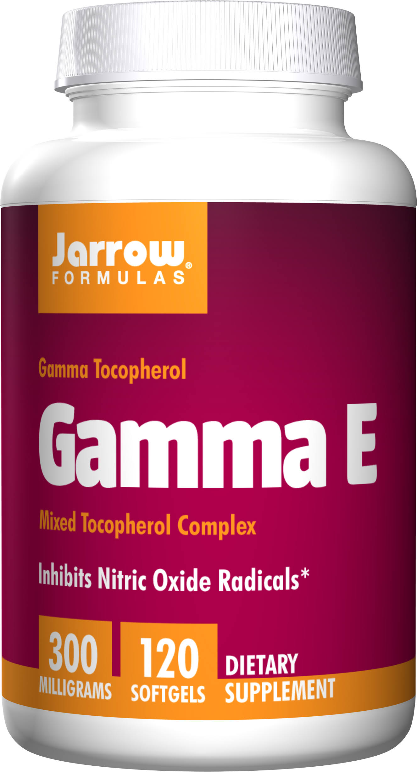 Jarrow Formulas Gamma E 300 - 120 Softgels