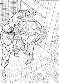 Free To Download Spiderman Coloring Page 40 On Print With