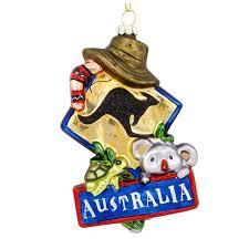 australia ornament christmas ornaments callisters callisters