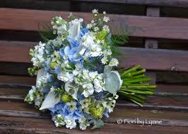 Jennies Rustic Blue Silver And White Wedding Flowers In The Woods Minstead