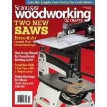 scroll saw woodworking u0026 crafts magazine back issues order