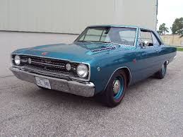 1968 Dodge Dart TURQUOISE METALLIC BLACK