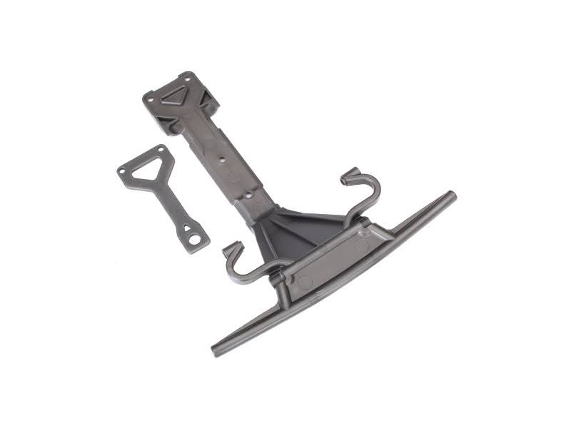 Traxxas 8537 - Skidplate, Front (plastic)/ Support Plate (Steel)