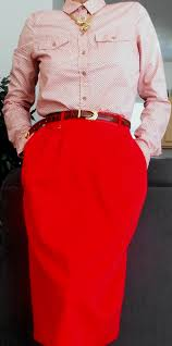 pink polka dot top red skirt my fashion wants my fashion wants