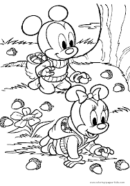 Fall Preschool Coloring Pages Printable Funycoloring