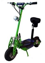 Super Turbo 1000watt Elite 36v Electric Scooter Neon Green