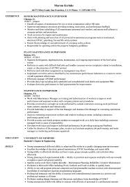 Maintenance Supervisor Resume Samples | Velvet Jobs Production Supervisor Resume Sample Rumes Livecareer Samples Collection Database Sales And Templates Visualcv It Souvirsenfancexyz 12 General Transcription Business Letter Complete Writing Guide 20 Data Entry Pdf Format E Top 8 Store Supervisor Resume Samples Free Summary Examples Account Warehouse Luxury 2012
