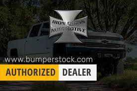 100 Iron Cross Truck Bumpers 1416 GMC Sierra 1500 Winch Front Bumper With Push Bar 22