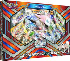 amazon com tcg lycanroc gx box card game toys games shea