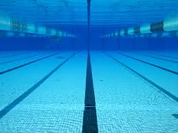 Olympic Swimming Pool Underwater Sky Bring It On