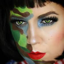 Fda Approved Halloween Contacts Uk by Green Werewolf Contacts Camoeyes Com