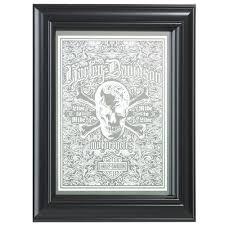 Harley Davidson Live To Ride Skull Mirror