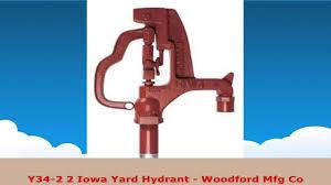 Woodford Faucet Model 14 by Y342 2 Iowa Yard Hydrant Woodford Mfg Co Youtube
