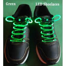 led light up shoelaces flash shoestrings green 1691 us