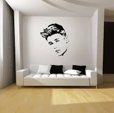Wall Mural Decals Amazon by Amazon Com Justin Bieber Wall Art 22