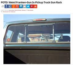 A Franken Gun Newhiluxnet View Topic Behind Seat Rifle Rack Carrying In Pickup Truck Nh Northeastshooterscom Forums Lweight Alinum Ladder Racks For Trucks Truck Bed Rack Bases Cchannel Track Systems Inno New Gun For My Youtube Back Seat Holder Shotgun Vehicle 3 Rifle Car The Adventures Of Garrett Squared Mother Invention Mondaygun Front Back Rest Pocket Gun Sling Camouflage Amazoncom Tacticalgear Sling Storage Great Day Inc 2011 Ram Outdoorsman Features Option Rambox Centerlok Overhead Discount Ramps