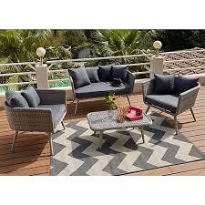 canape loft taupe seventies canapés fauteuils de jardin meubles de jardin salon de