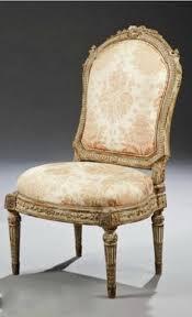 chaise de style chaise basse cannée de style louis xvi estillée jeanselme