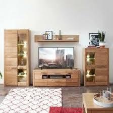 tv anbauwand padura aus wildeiche bianco mit led beleuchtung