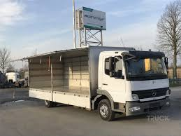 100 Mercedes Box Truck Benz ATEGO 1024 Used By TBSI