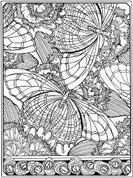 Creative Haven Art Deco Designs Coloring Book Dover Publications Butterflies