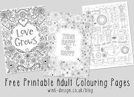 Free Adult Colouring Sheets Inspirational Printable For Adults Lifestyle