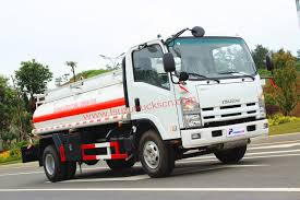 High Efficiency 5,000L NPR Refueling Truck Fuel Tank,Oil Tank Truck ...