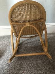 Child's Wicker Rocking Chair In WV3 Wolverhampton For £15.00 For ... Vintage White Wicker Rocking Chair Renewworks Home Decor Wisdom And Koenig Interior Iron Rocking Chair Designer Outdoor Villa Back Yard Rattan Alinum Chairs Lounge Rocker Agha Interiors Blue Heron Pines Homeowners Association Cape Cod Kampmann With Cushions Reviews Joss Coral Coast Mocha Resin Beige Cushion Terrace Leisure Fniture With High And Alinium Tortuga Portside Classic Wickercom Aliexpresscom Buy Giantex Patio